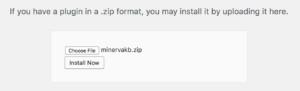 Upload form
